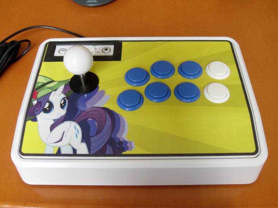 Rarity arcade joystick by purpletinker