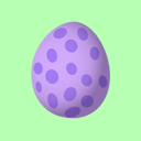 Spike egg icon for Twitter by purpletinker
