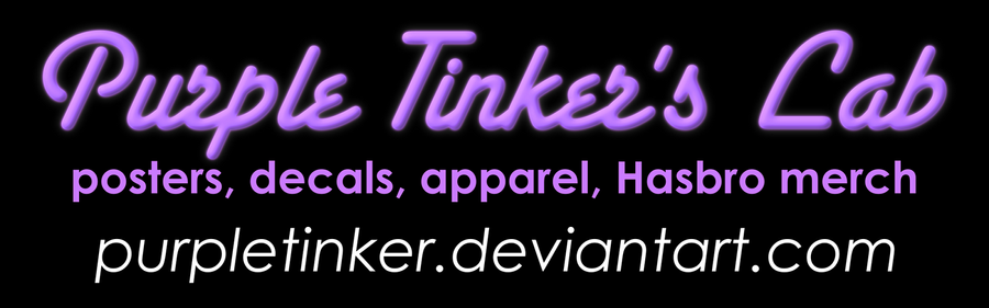 Purple Tinker's Lab convention banner by purpletinker