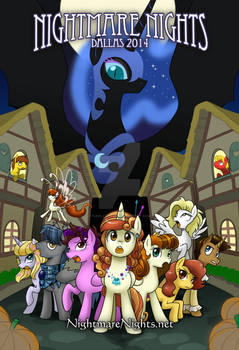 Nightmare Nights Dallas 2014 poster