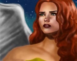 Hawk Girl by szenv