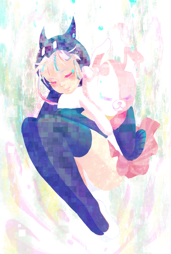 Nanami and Monomi by DrunkPugs