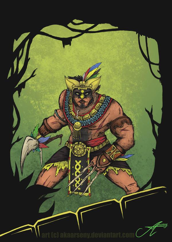 Immortal Mayan Wolverine by akaArseny