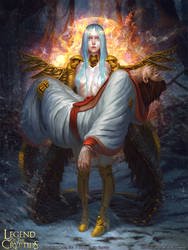 Legend of the Cryptids - Manmade Angel Adrigail 1