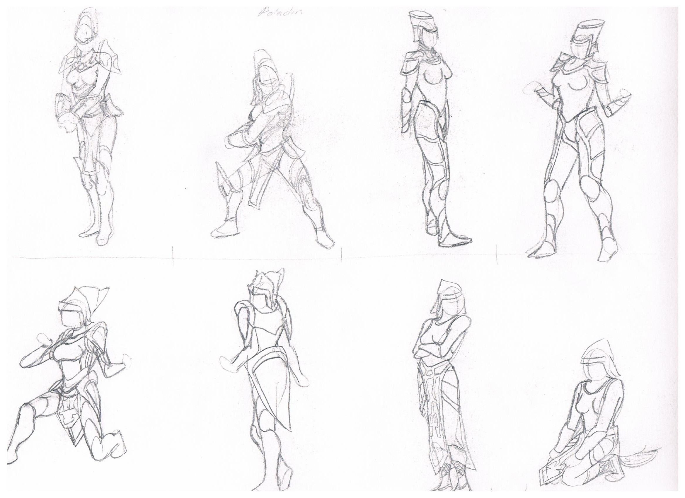 Anime Character Design Template