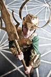 Loki Laufeyson the God of Mischief