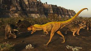 Nasutoceratops: Kaiparowits Formation 75 Ma