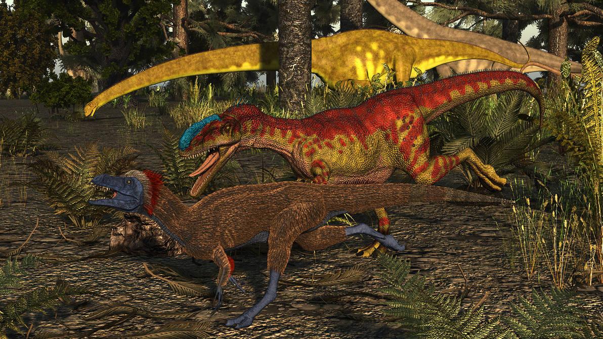 Monolophosaurus and Zuolong: Shishugou Formation by ...