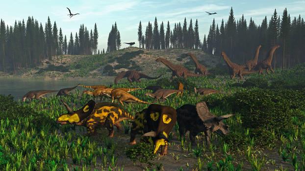Javelina Formation: Cretaceous 67Ma