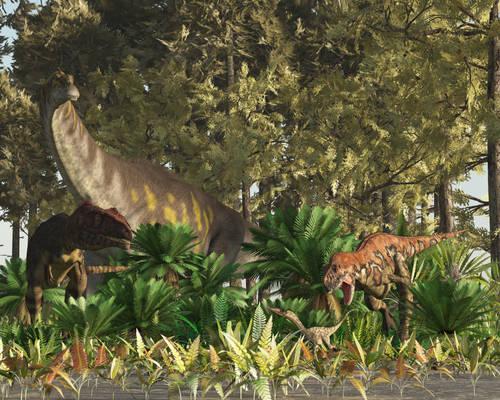 Huincul Formation: Cretaceous Argentina