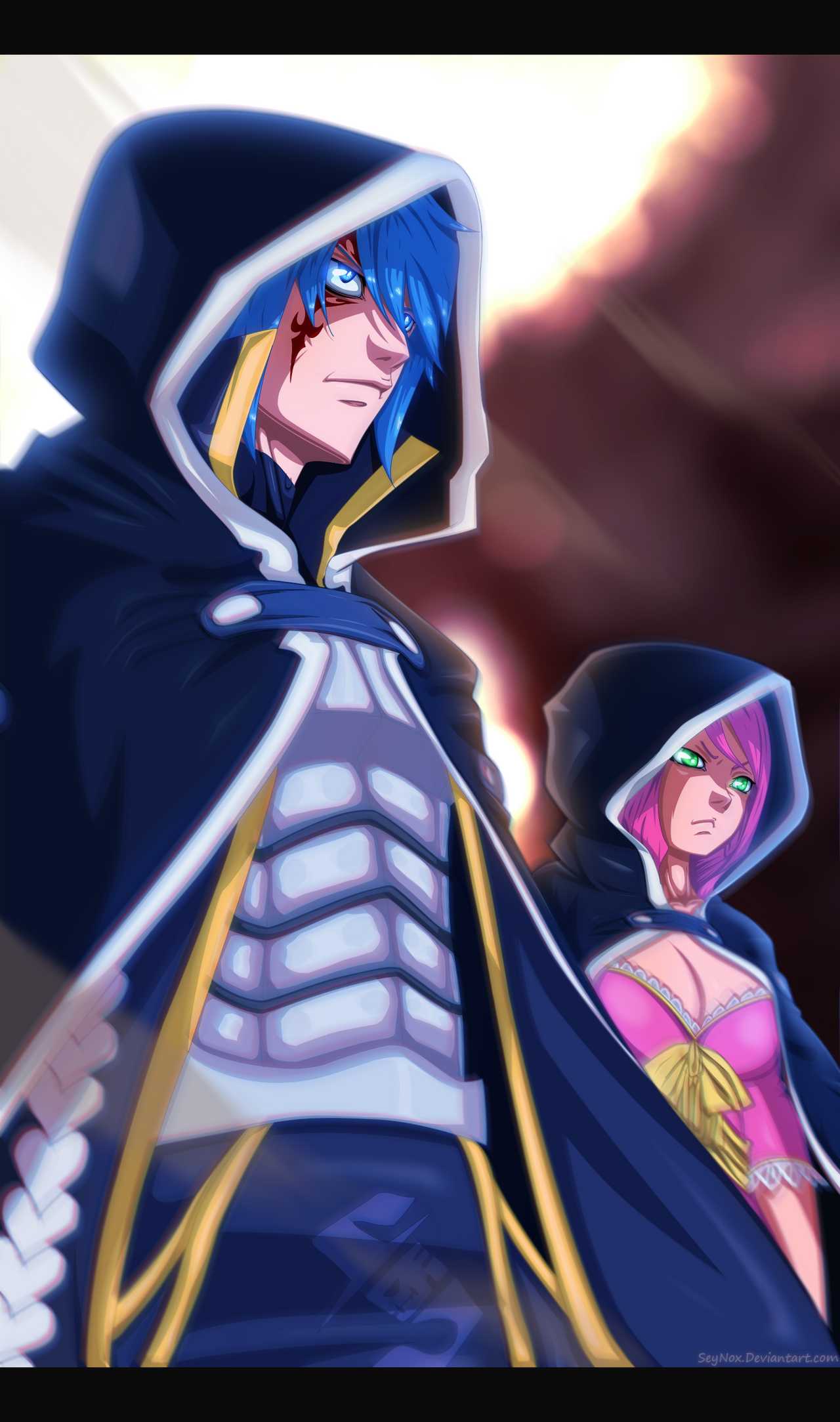 Fairy Tail - Jellal and Meredy by SeyNox on DeviantArt