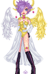 Half Archangel by Naesylph