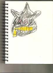 AT: Creepy Happy Banette Face by johnnyd2