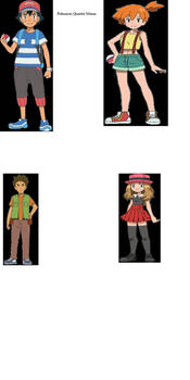 Pokemon Quartet Meme: Blank Version