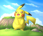 A Pikachu looking for Adventure!