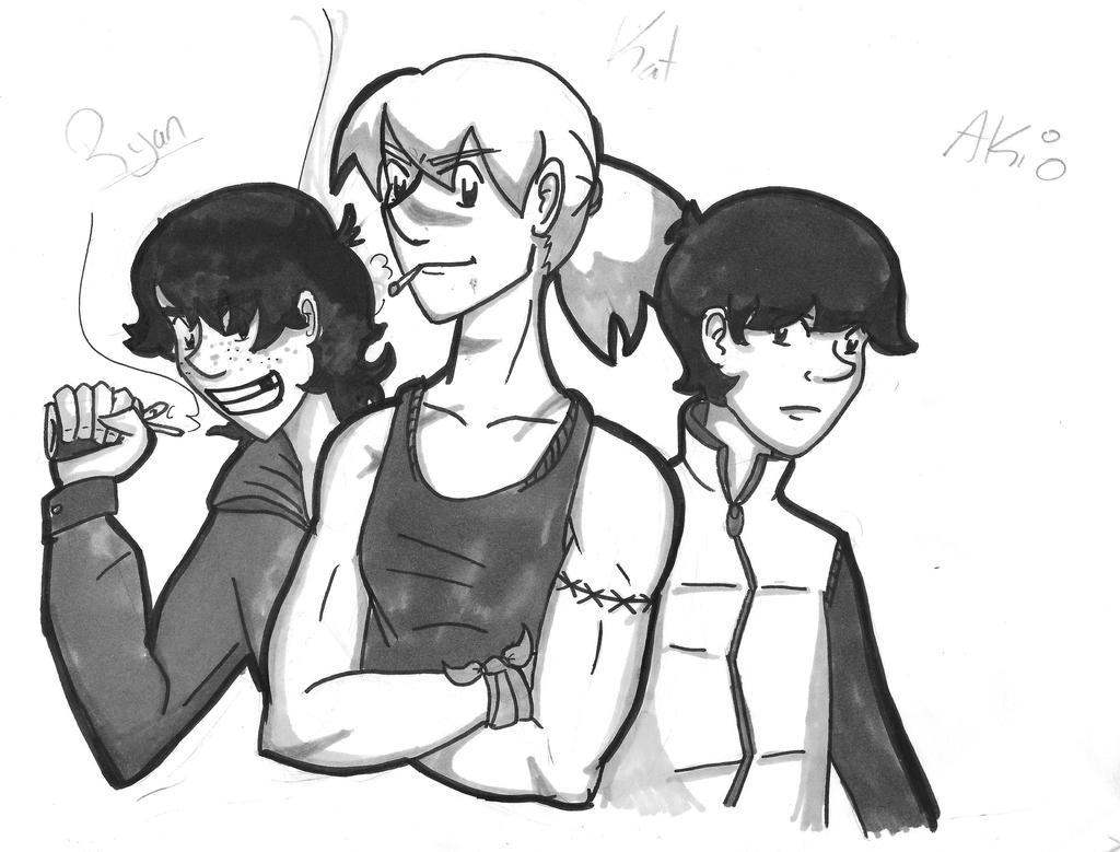 The three by Geli-K
