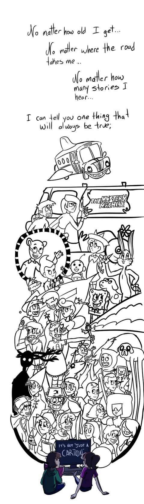 Not Just A Cartoon by Geli-K
