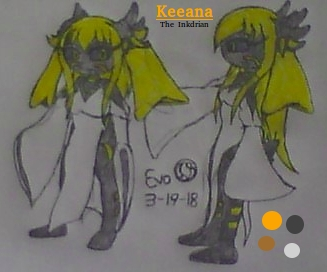 Keeana the Inkdrian Reference by EvoDeus