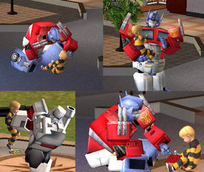 Sims transformers by Teengirl