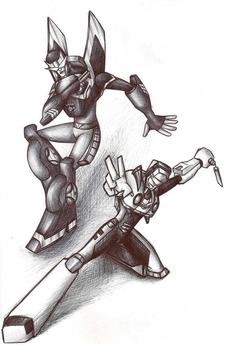 Prowl and Jazz Pose