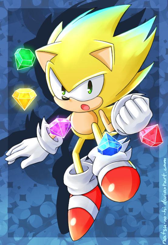 Super Sonic By Natsu No Hi On Deviantart