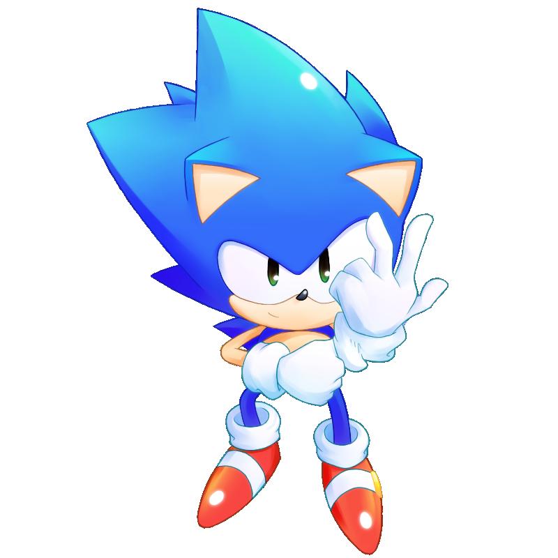 Sonic - Project 20 by natsu-no-hi
