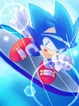 One Hour Sonic - shooting star