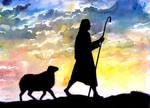 I want to follow the good shepherd Jesus