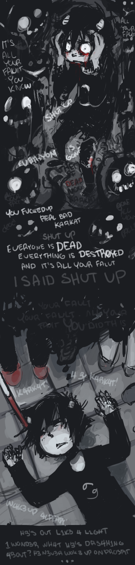 Nightmares by Karkat-Vantas