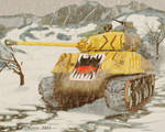 Korean Tiger by ADiMarco