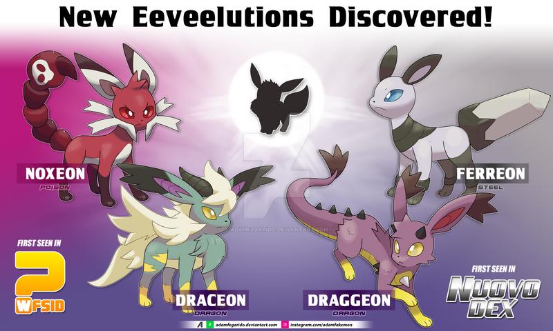 New Eeveelutions Discovered! by AdamFegarido