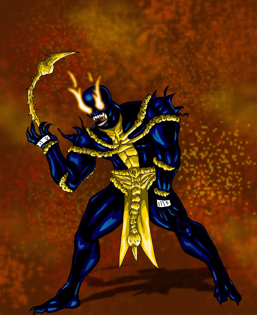 Symbiote Scorpion by T...