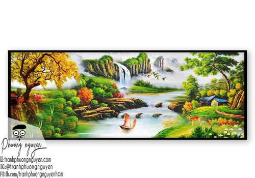 Tranh Phong Canh Son Thuy Treo Dep  (8) by tranhphuongnguyen