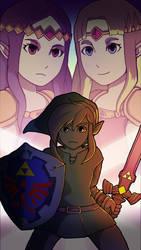 A Link Between Worlds - Zelda Smartphone Wallpaper