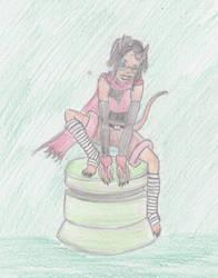 Gift art: Young Giosha by Valkinaz