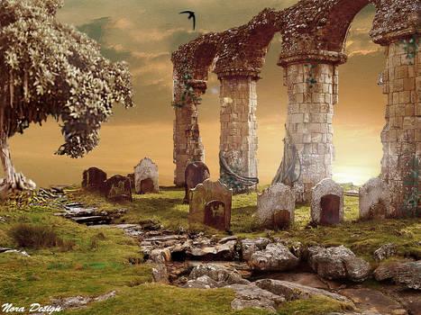 broken ruins