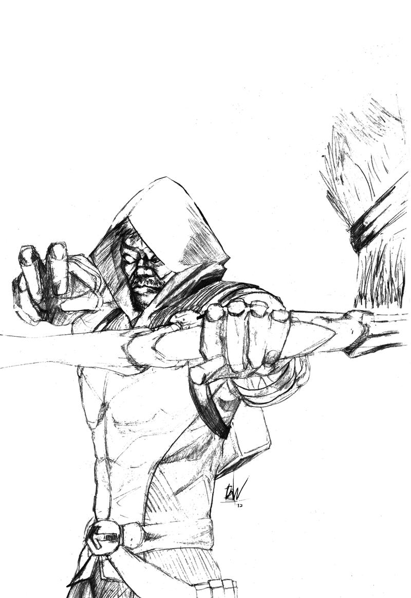 Arrow Cw Coloring Pages