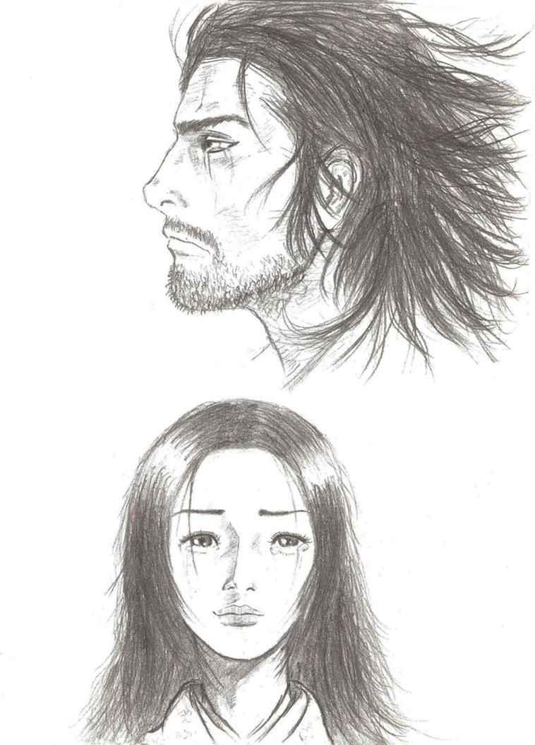 Takezo And Otsu By Darkwoodsoftime