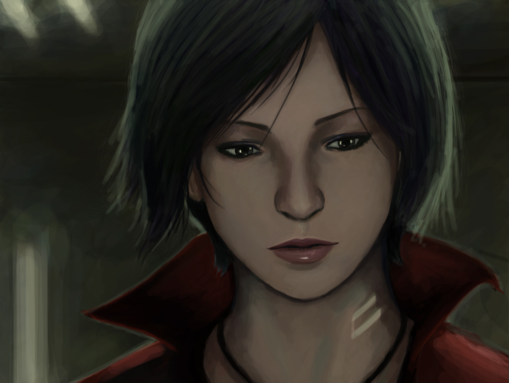 ada wong coloring pages - photo#36