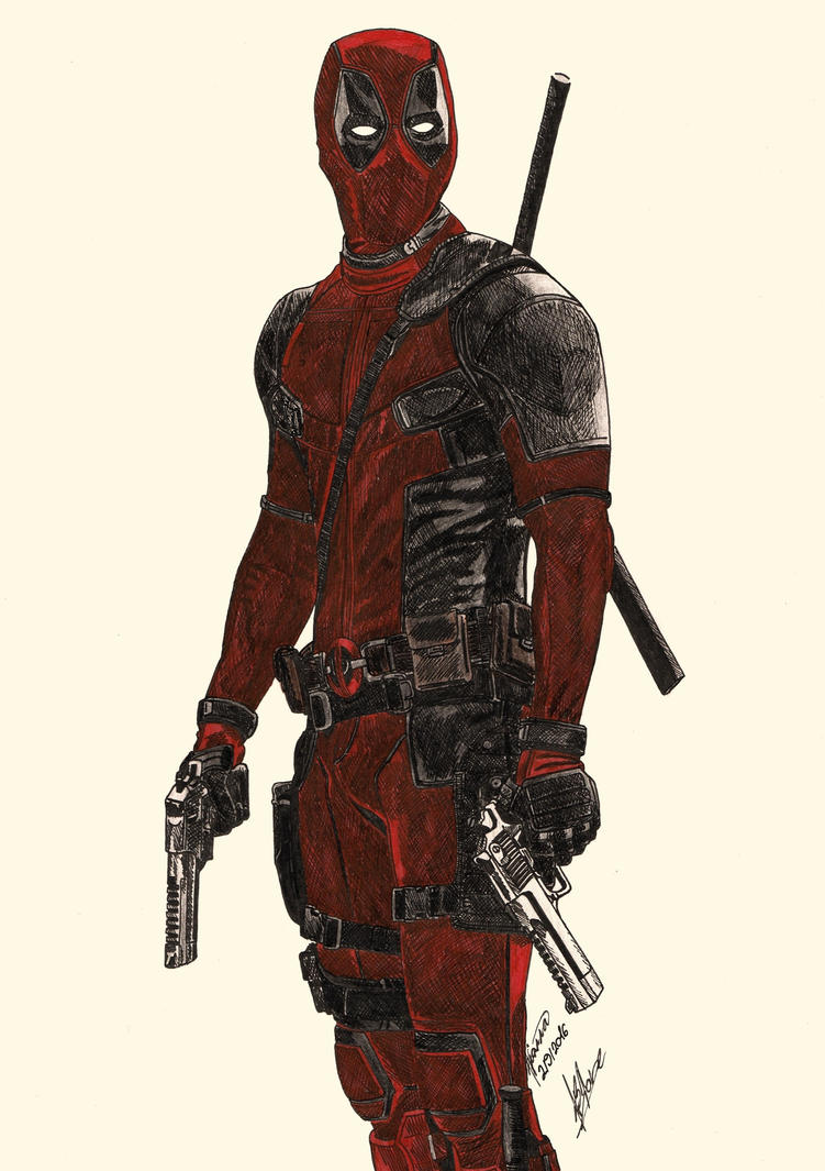 The gallery for --> Pencil Drawings Of Deadpool