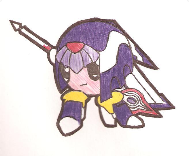 Kirby-MegamanZero-04 by Eon-X
