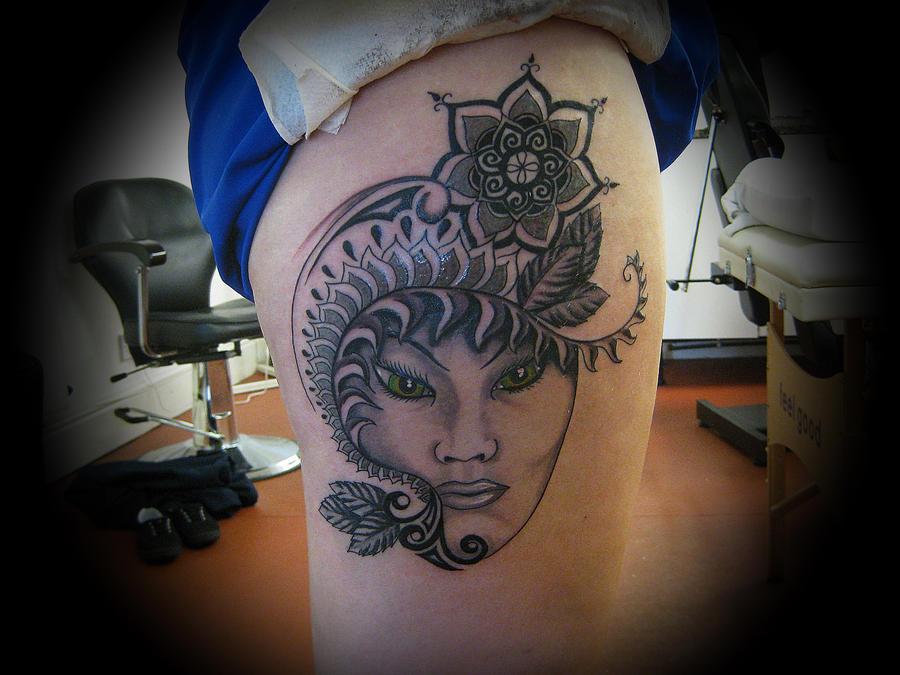 Hindu inspired tattoo by teeceerrr on deviantart for Maroon 5 tattoos hindu
