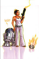 Leia's got aim by kickstandkid78