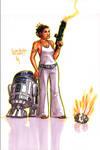 Leia's got aim