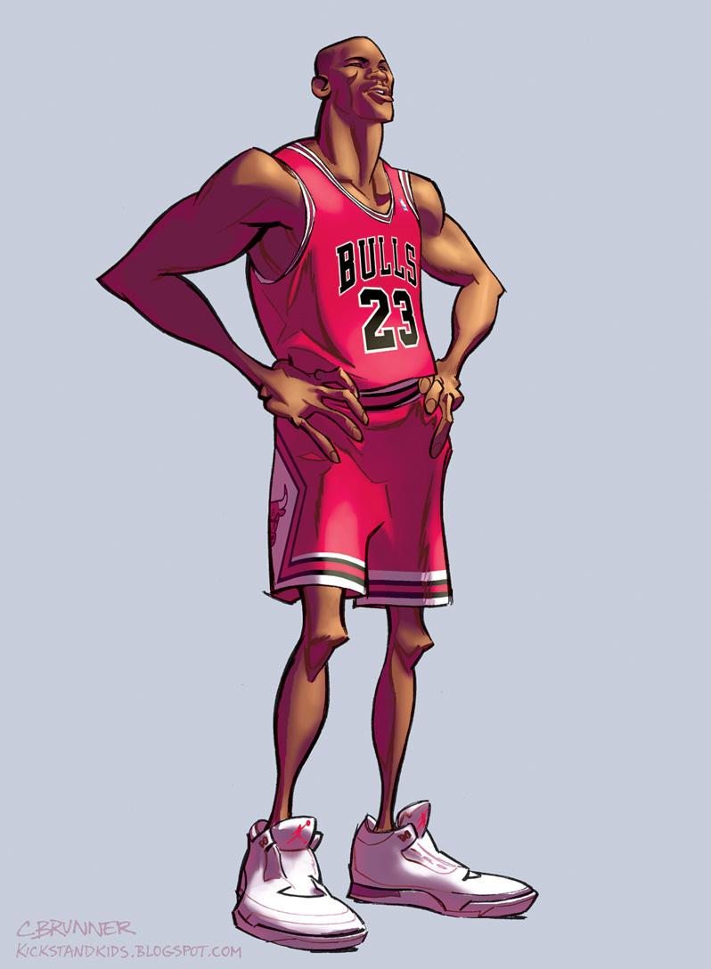 Michael Jordan by kickstandkid78