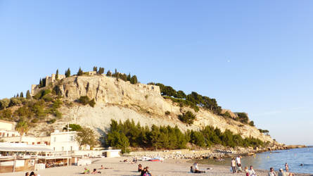 Chateau of Cassis by MiffArte