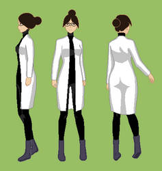 Tricia's Scientist Outfit