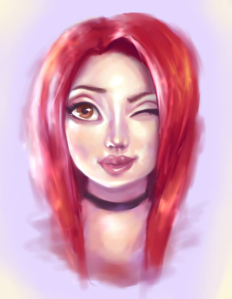 Selfportait by AnaDarcy