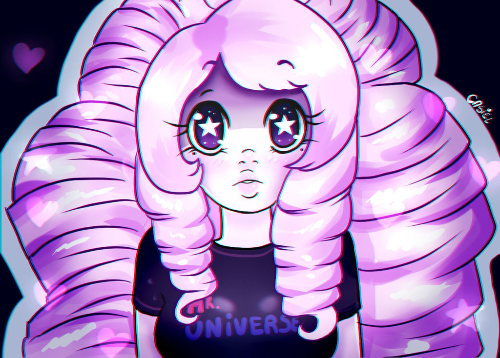 -Old Art- Rose , steven universe by AnaDarcy