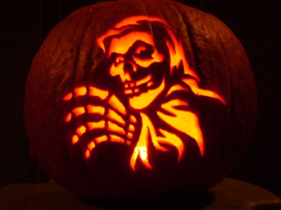 Crimson Ghost Pumpkin By Robot607 On Deviantart